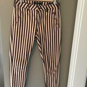 Scotch & Soda La Bohemienne Striped trouser